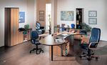 Промоция на иновантни модерни офис мебели първокласни