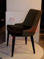 Промоция на дървени кресла за ресторанти за външна употреба