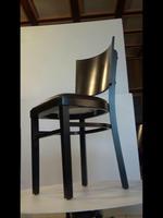Промоция на букови дървени столове за лоби бар