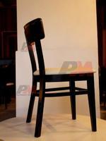 Промоция на дървени столове с висока издръжливост с атрактивен дизайн