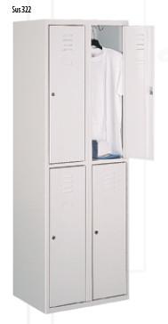 Промоция на Метален гардероб Sus 322 с 4 врати