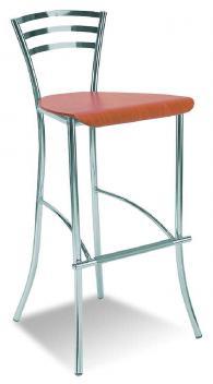 Промоция на Бар стол MOLINO hocker wood chrome