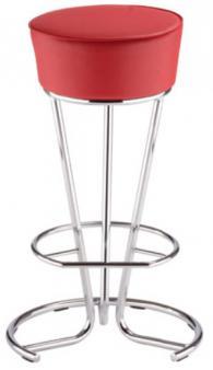 Промоция на Бар стол PINACOLADA hocker chrome