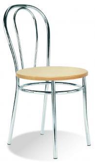 Промоция на Кафе стол TULIPAN wood chrome