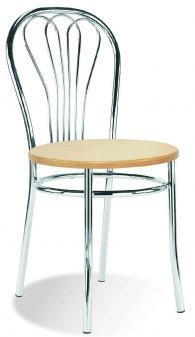 Промоция на Кафе стол VENUS wood chrome