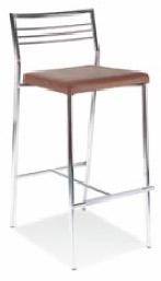 Промоция на Бар стол CALDO hocker chrome