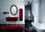 Промоция на модернистични  кръгли мебели за баня