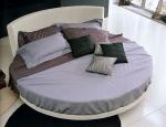 Промоция на Тапицирани кръгли легла с дамаска
