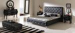 Промоция на Стилно тапицирано легло с естествена кожа