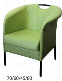 Промоция на Зелено кресло дизайнерско