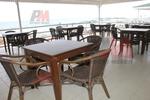 Промоция на Универсален стол от бамбук за заведения за всесезонно използване