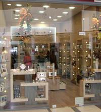 Промоция на Интериорен дизайн на магазин за козметика