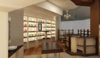 Промоция на Интериор на магазин за козметика