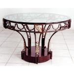 Промоция на маса стъклена от ковано желязо 3872-3171