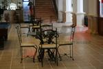 Промоция на За навън столове от ковано желязо за ресторанти