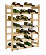 Промоция на дървени стелажи за вино