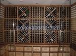 Промоция на изработване на дървени стелажи за вино