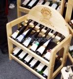 Промоция на дървени стелажи за вино по поръчка