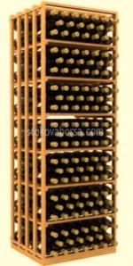 Промоция на Поръчково изработване на стелажи от дърво за съхранение на вино
