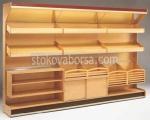 Промоция на Стелаж за хлебни изделия от дърво