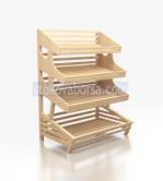 Промоция на Дървени стелажи за хлебни изделия