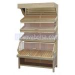 Промоция на Изработка на дървен стелаж за хлебни изделия