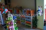 Промоция на производство на стелажи за детски обувки