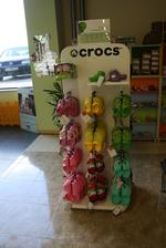Промоция на фирма за стелажи за детски обувки