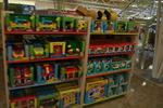 Промоция на стелажи за детски играчки по поръчка
