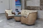 Промоция на Мека мебел от естествен ратан за дома и заведението