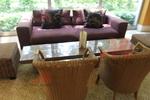 Промоция на Богатство от изпълнения на мебели от луксозен естествен ратан по поръчка