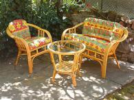 Промоция на Комплект мебели от ратан с меки части