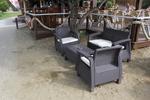 Промоция на Стилни маси и столове ратан за плаж