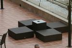 Промоция на Лукс маси и столове от кафяв ратан