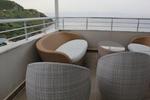 Промоция на Маси и столове от светъл ратан за къща