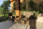 Промоция на Ниски цени на маси и столове ратан за заведение