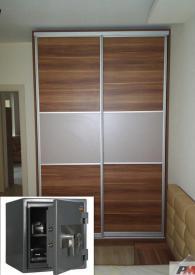 Промоция на Сейф  GARANT 46  вграден в гардероб комплект