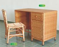 Промоция на Комплект бюро и стол от ракита