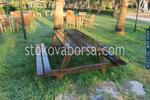 Промоция на дървена маса