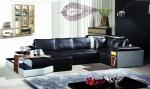 Промоция на луксозна мека мебел с вградено барче