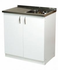 Промоция на Кухненски шкаф с бордова мивка