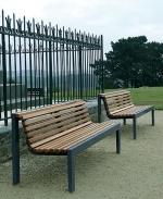 Промоция на Изработка и монтаж на пейки от метал