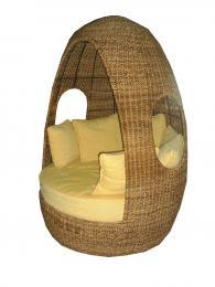 Промоция на Вътрешна и външна ратанова мека мебел магазин