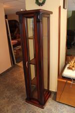 Промоция на стъклена дървена витрина